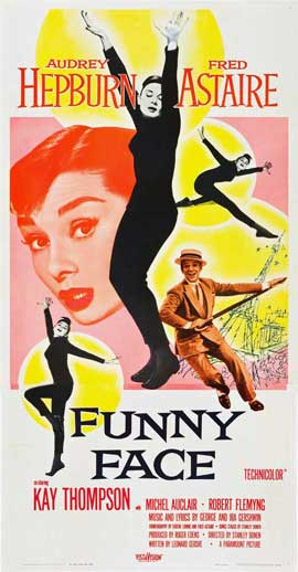 Funny Face - 20 x 40 Movie Poster - Style A