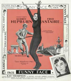Funny Face - 30 x 30 Movie Poster - Style A