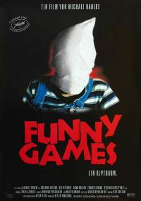 Funny Games - 27 x 40 Movie Poster - German Style A