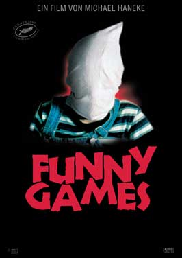 Funny Games - 43 x 62 Movie Poster - German Style A