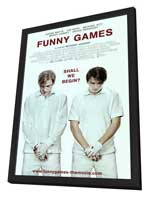 Funny Games - 27 x 40 Movie Poster - Style B - in Deluxe Wood Frame