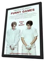 Funny Games - 11 x 17 Movie Poster - Style B - in Deluxe Wood Frame