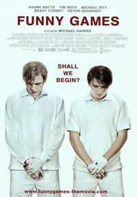 Funny Games - 43 x 62 Movie Poster - Bus Shelter Style B