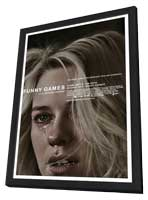 Funny Games U.S. - 27 x 40 Movie Poster - Style B - in Deluxe Wood Frame