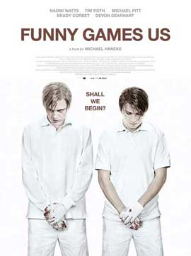 Funny Games U.S. - 11 x 17 Movie Poster - Czchecoslovakian Style A