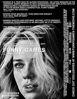 Funny Games U.S. - 11 x 17 Movie Poster - Style A