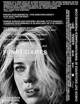 Funny Games U.S. - 27 x 40 Movie Poster - Style A