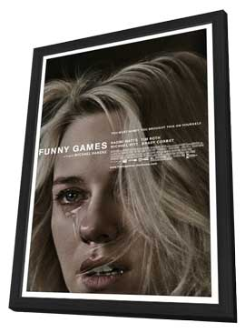 Funny Games U.S. - 11 x 17 Movie Poster - Style B - in Deluxe Wood Frame