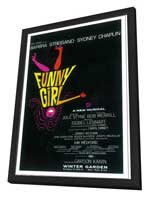 Funny Girl (Broadway) - 27 x 40 Poster - Style A - in Deluxe Wood Frame