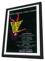 Funny Girl (Broadway) - 11 x 17 Poster - Style A - in Deluxe Wood Frame
