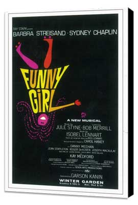 Funny Girl (Broadway) - 11 x 17 Poster - Style A - Museum Wrapped Canvas