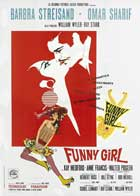 Funny Girl - 27 x 40 Movie Poster - Italian Style A