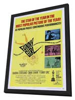Funny Girl - 27 x 40 Movie Poster - Style A - in Deluxe Wood Frame