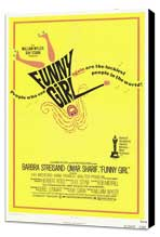 Funny Girl - 11 x 17 Movie Poster - Style A - Museum Wrapped Canvas