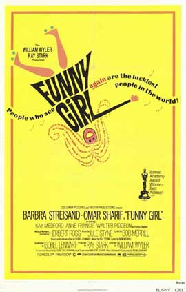 Funny Girl - 11 x 17 Movie Poster - Style A