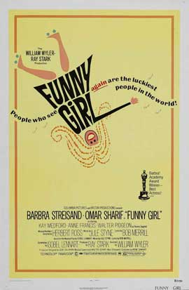 Funny Girl - 11 x 17 Movie Poster - Style B