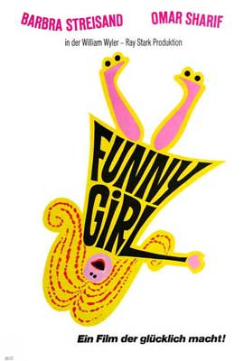 Funny Girl - 27 x 40 Movie Poster - German Style A
