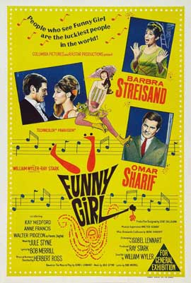 Funny Girl - 27 x 40 Movie Poster - Australian Style A