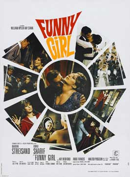 Funny Girl - 27 x 40 Movie Poster - French Style A