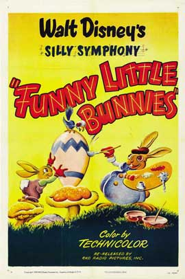 Funny Little Bunnies - 11 x 17 Movie Poster - Style A