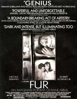 Fur: An Imaginary Portrait of Diane Arbus - 11 x 17 Movie Poster - Style B