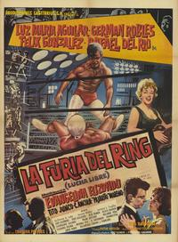 Furia del ring, La - 27 x 40 Movie Poster - Spanish Style A
