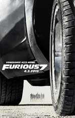 """Furious 7"" Movie Poster"