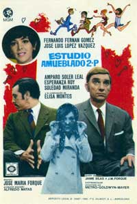 Furnished Studio 2.P. - 11 x 17 Movie Poster - Spanish Style A