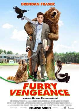 Furry Vengeance - 43 x 62 Movie Poster - Bus Shelter Style A