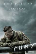 """Fury"" Movie Poster"