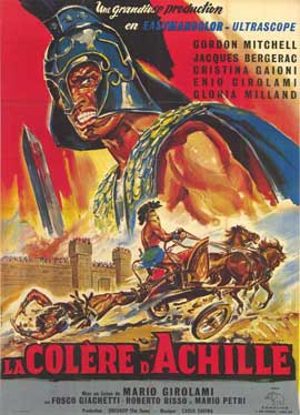 Fury of Achilles - 27 x 40 Movie Poster - French Style A