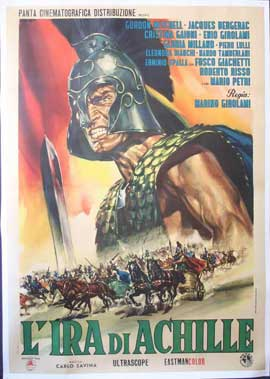 Fury of Achilles - 11 x 17 Movie Poster - Italian Style A