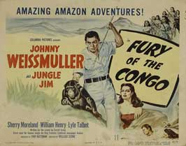 Fury of the Congo - 11 x 17 Movie Poster - Style A