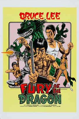 Fury of the Dragon - 11 x 17 Movie Poster - Style A