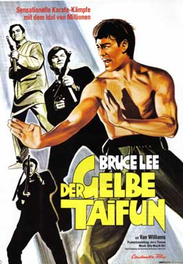 Fury of the Dragon - 11 x 17 Movie Poster - German Style A
