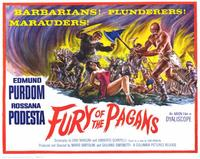 Fury of the Pagans - 11 x 14 Movie Poster - Style A