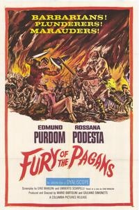 Fury of the Pagans - 27 x 40 Movie Poster - Style A