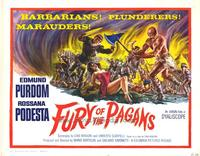 Fury of the Pagans - 27 x 40 Movie Poster - Style B