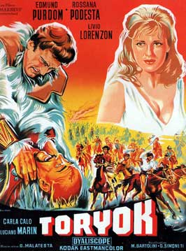 Fury of the Pagans - 11 x 17 Movie Poster - French Style A