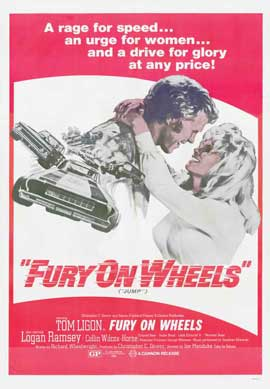 Fury on Wheels - 11 x 17 Movie Poster - Style A