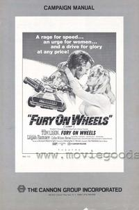 Fury on Wheels - 11 x 17 Movie Poster - Style B