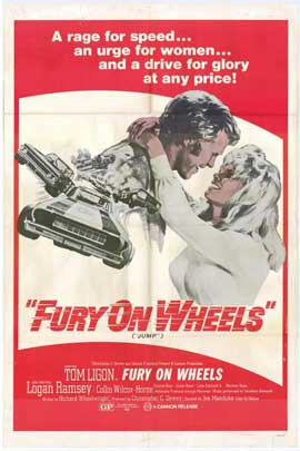 Fury on Wheels - 27 x 40 Movie Poster - Style A