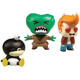 Futurama - Tineez Series 2 Stylized Mini-Figure 3-Pack