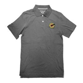 Futurama - Planet Express Logo Gray Polo T-Shirt