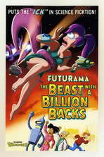 Futurama: The Beast with a Billion Backs - 27 x 40 Movie Poster - Style C