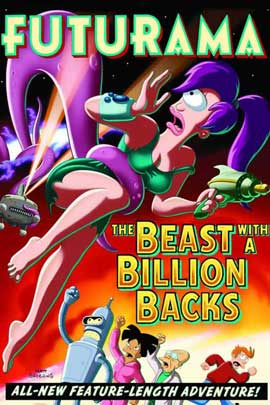 Futurama: The Beast with a Billion Backs - 11 x 17 Movie Poster - Style A