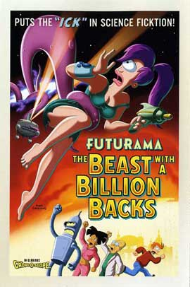 Futurama: The Beast with a Billion Backs - 11 x 17 Movie Poster - Style D