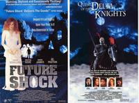 Future Shock/Quest of the Delta Knights - 43 x 62 Movie Poster - Bus Shelter Style A