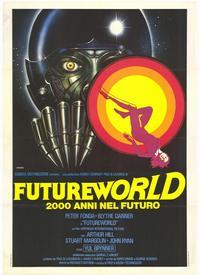 Futureworld - 39 x 55 Movie Poster - Italian Style A