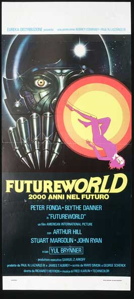 Futureworld - 14 x 36 Movie Poster - Insert Style A